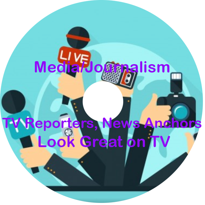 Media journalism reporters anchors. Clipart tv news anchor