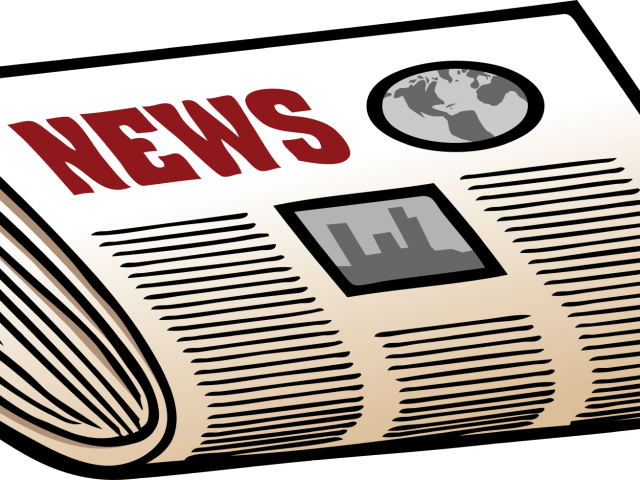 huge freebie download. News clipart old newspaper