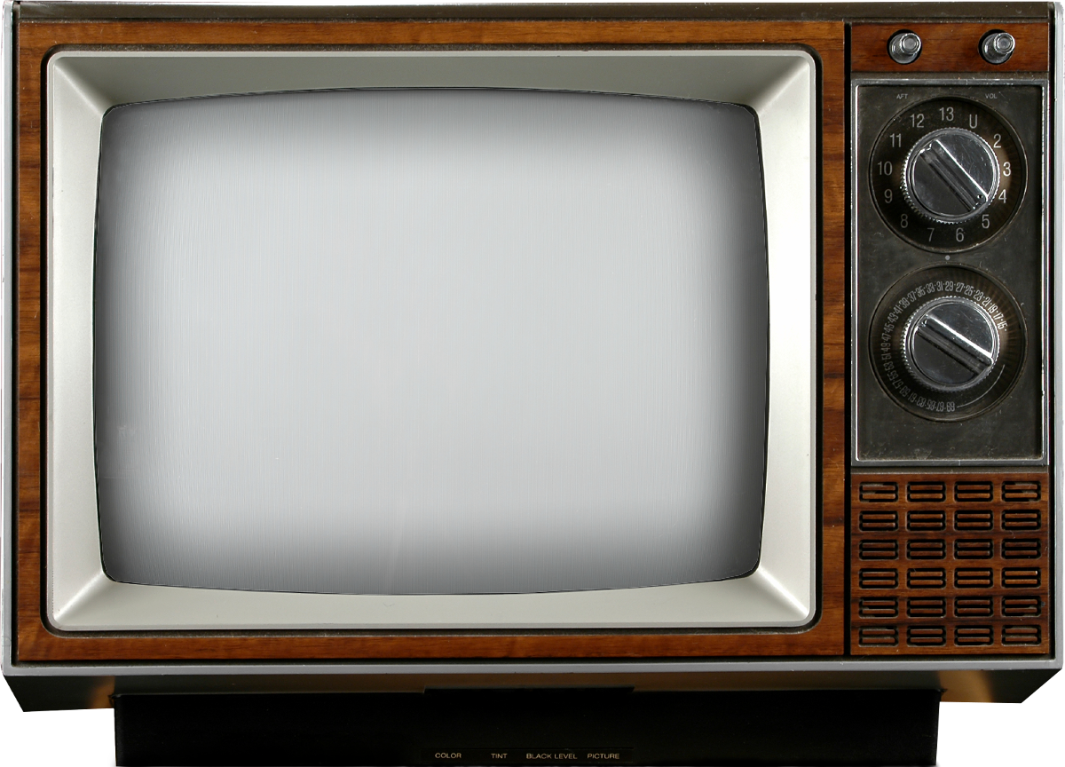 Television clipart colour tv. Old png image purepng