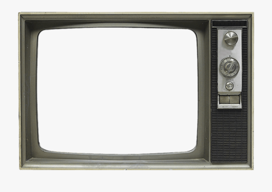 Png with transparent background. Clipart tv old fashioned tv