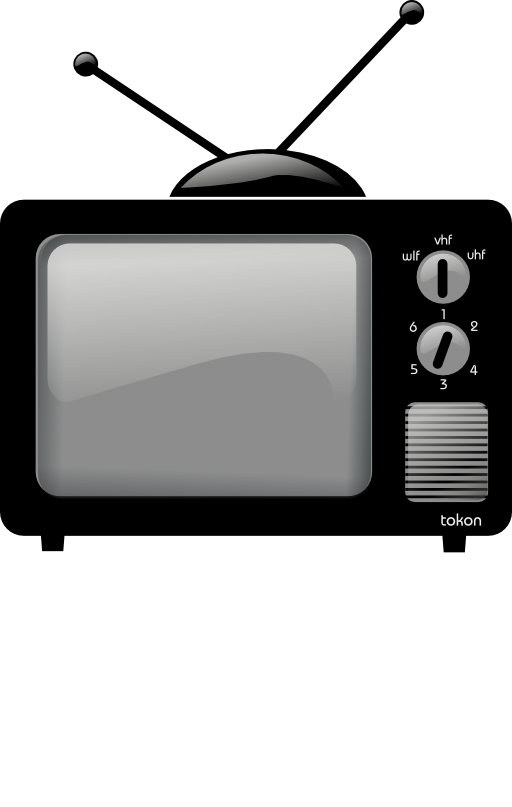 Clipart tv old fashioned tv. Television i royalty free