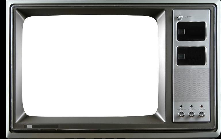 Clipart tv old style. My s
