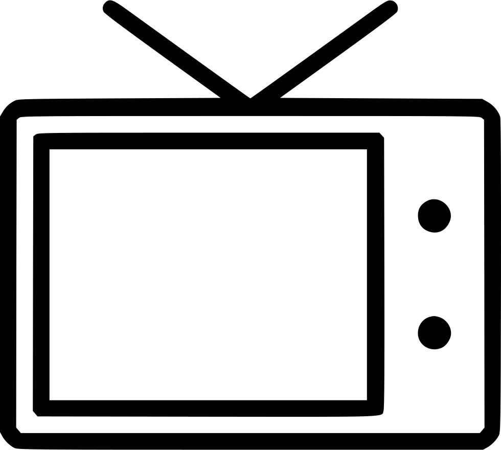 Television entertainment old display. See clipart tv viewing