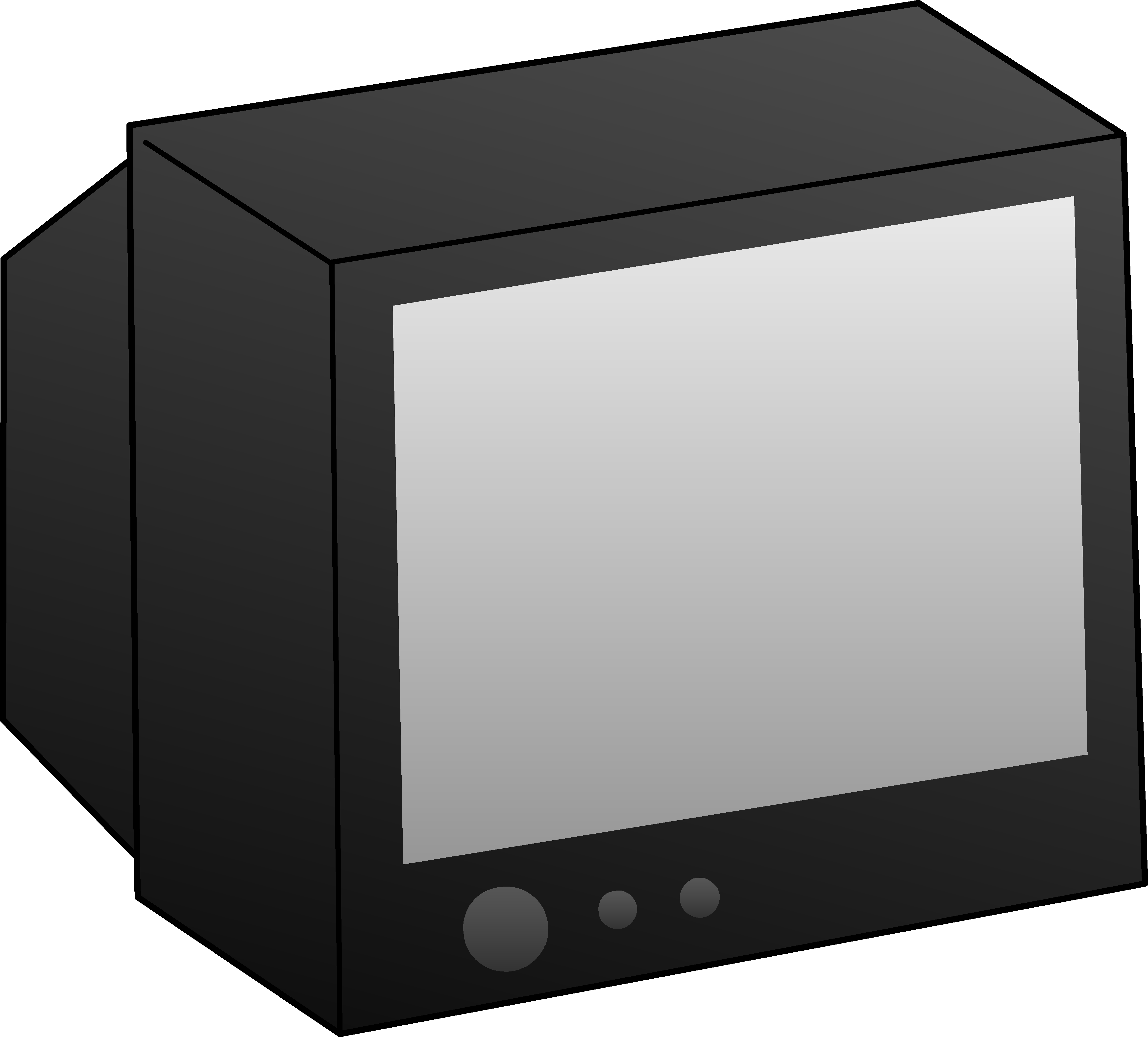 obscure shows you. Television clipart telly