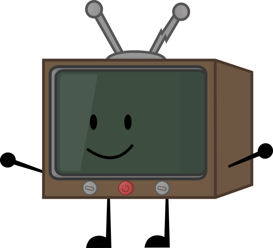 Commission television by on. Clipart tv old style