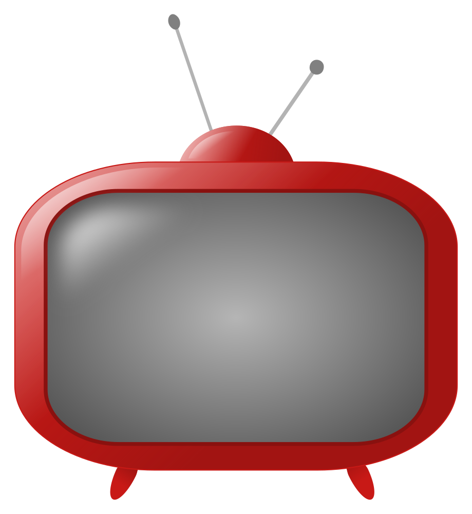 Png retro vector clip. Clipart tv old style