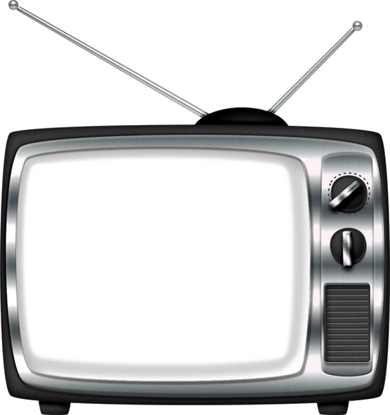 Clipart tv old technology. Television clip art retro