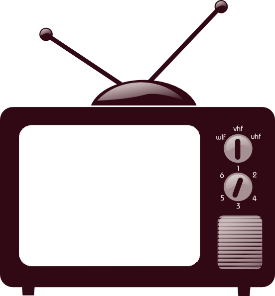 Png by shiningday on. Clipart tv old technology