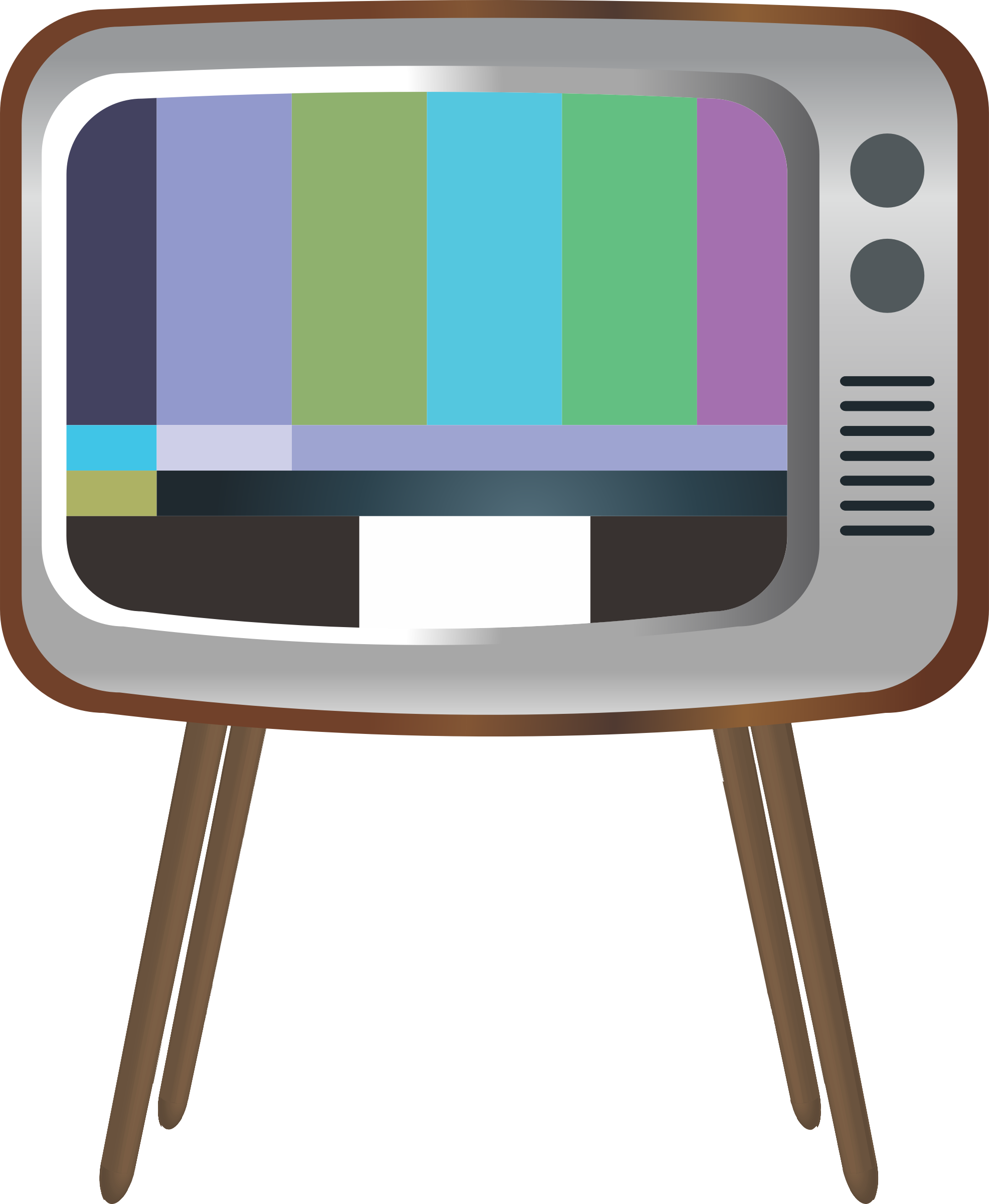 Clipart tv old technology. Big image png
