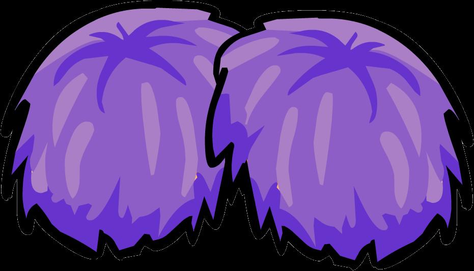 Pompoms club penguin wiki. Square clipart purple
