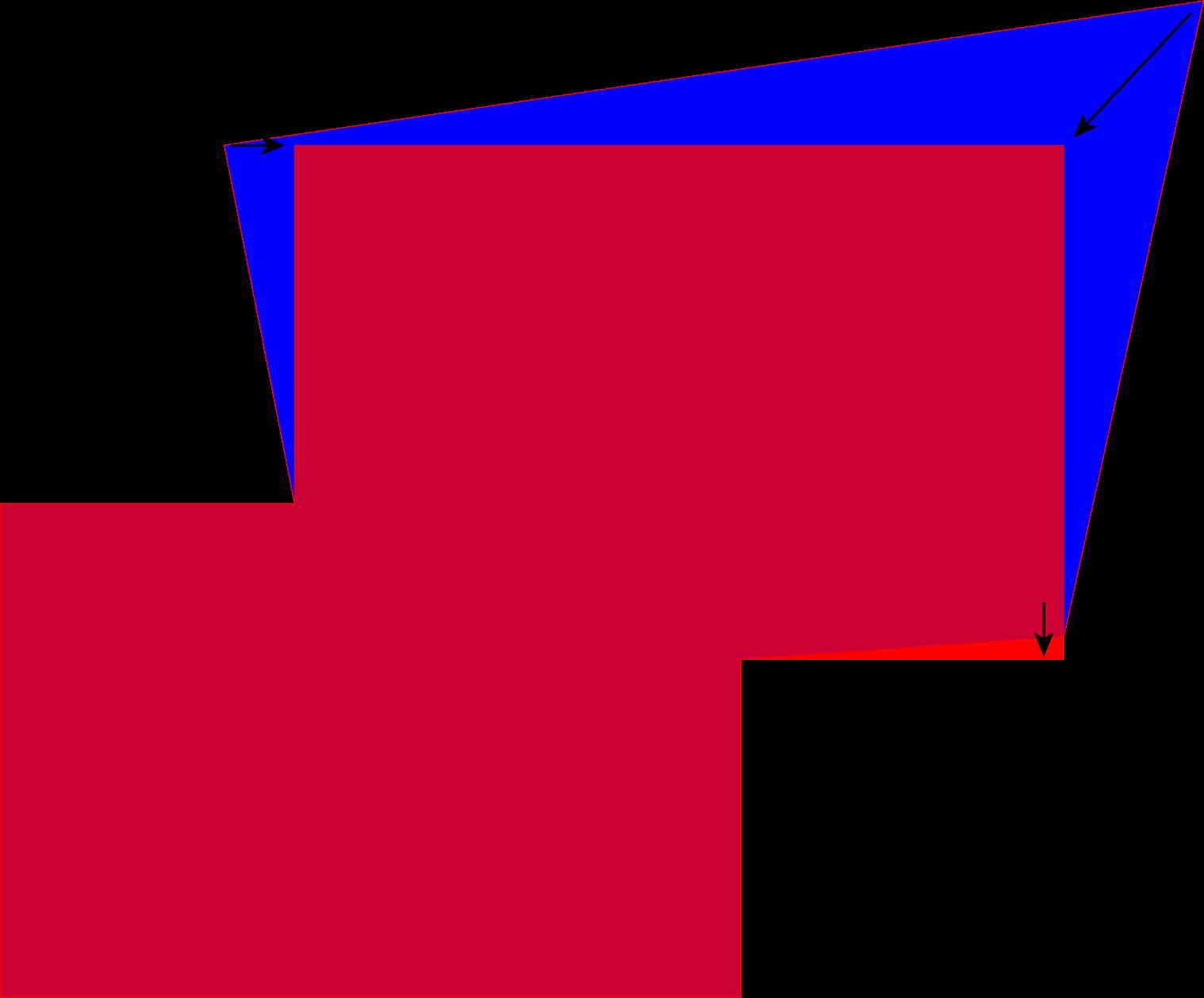 Adobe photoshop warp raster. Clipart tv rectangle shaped object