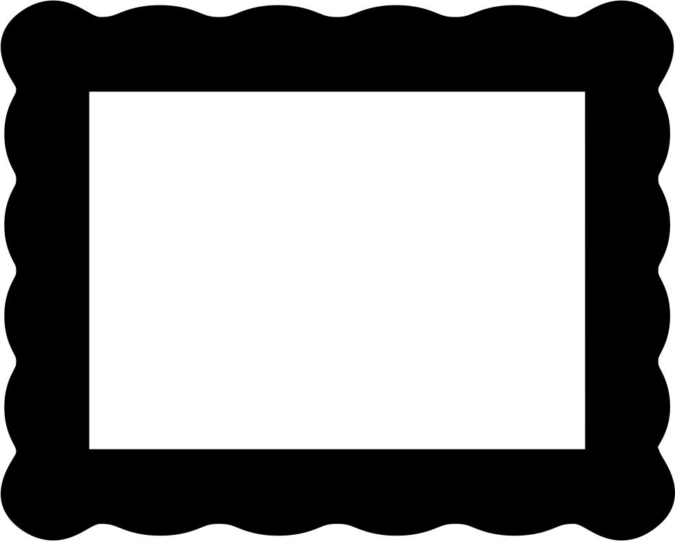 Tv rectangle shaped object