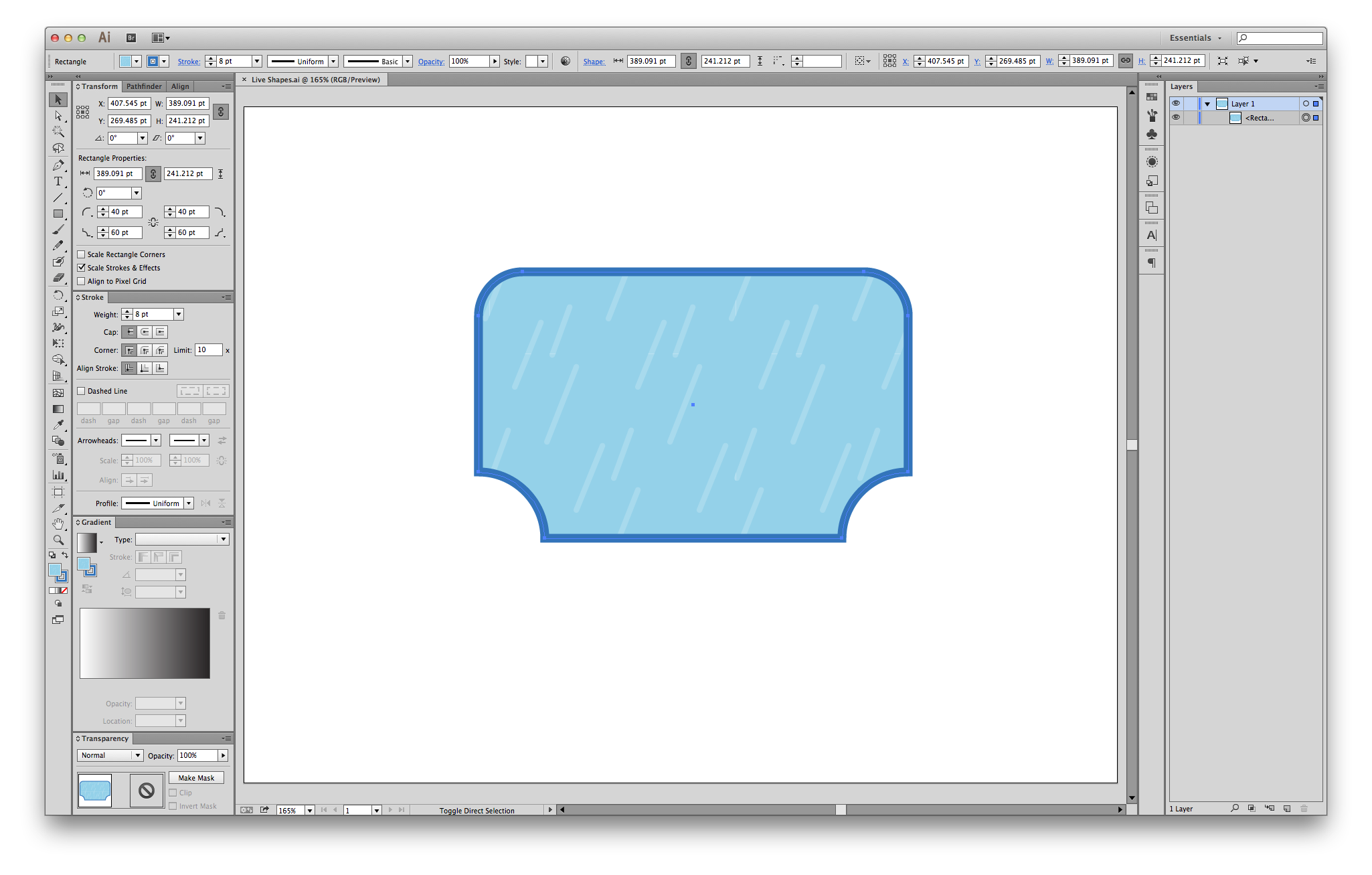 Clipart tv rectangle shaped object. Illustrator cc review adobe
