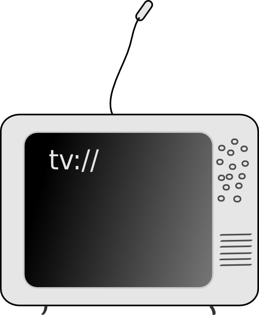 Tv royalty free. Clipart transparent