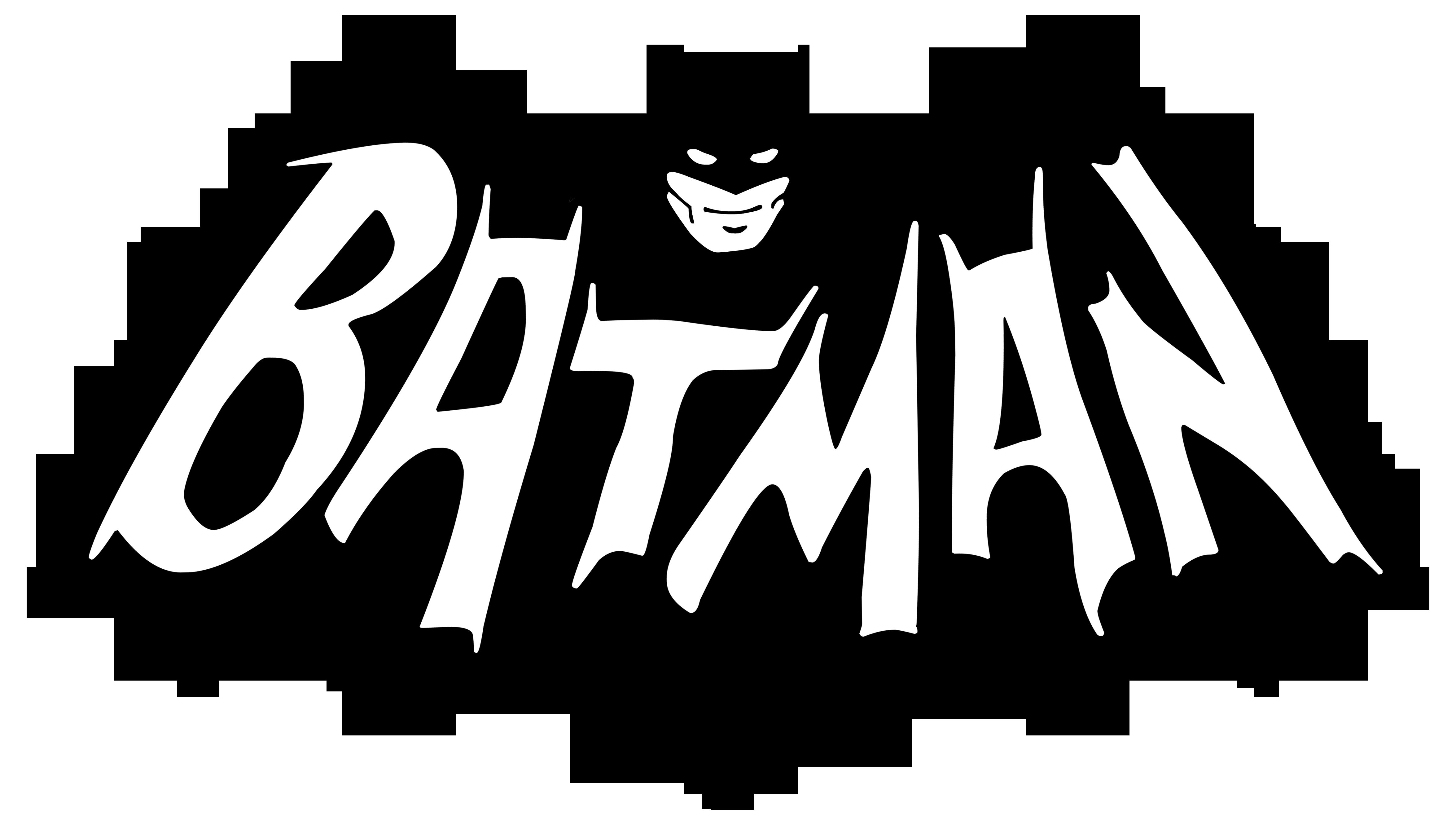 Clipart tv serial. Batman logo series by