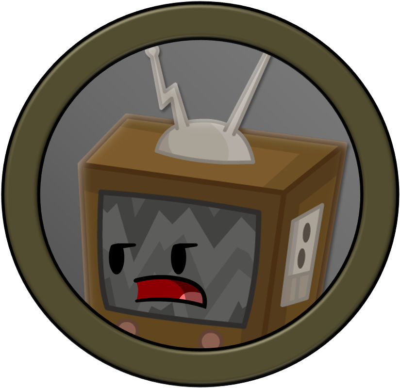 Clipart tv shape object. Overload television by planetbucket