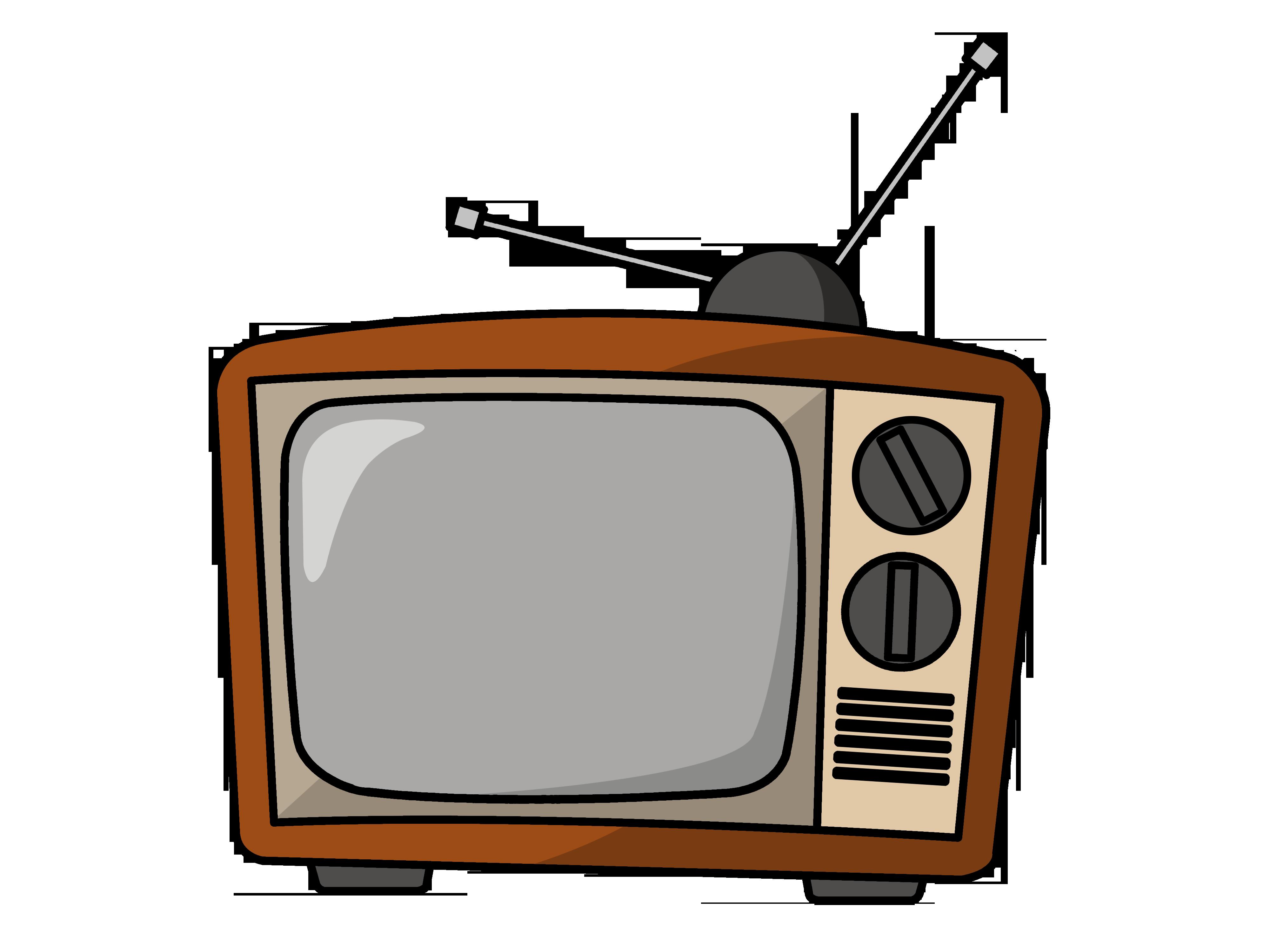 Clipart tv small tv. Clip art free panda