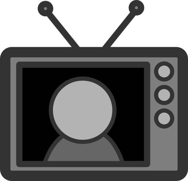 television clipart tv star