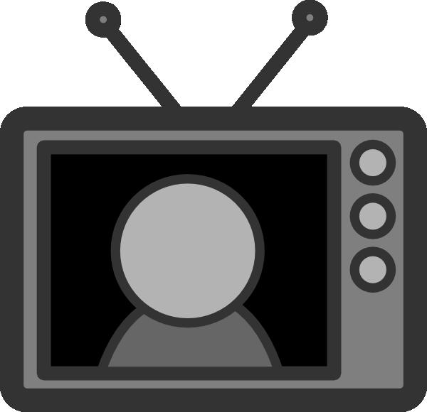 Clip art at clker. Television clipart tv star