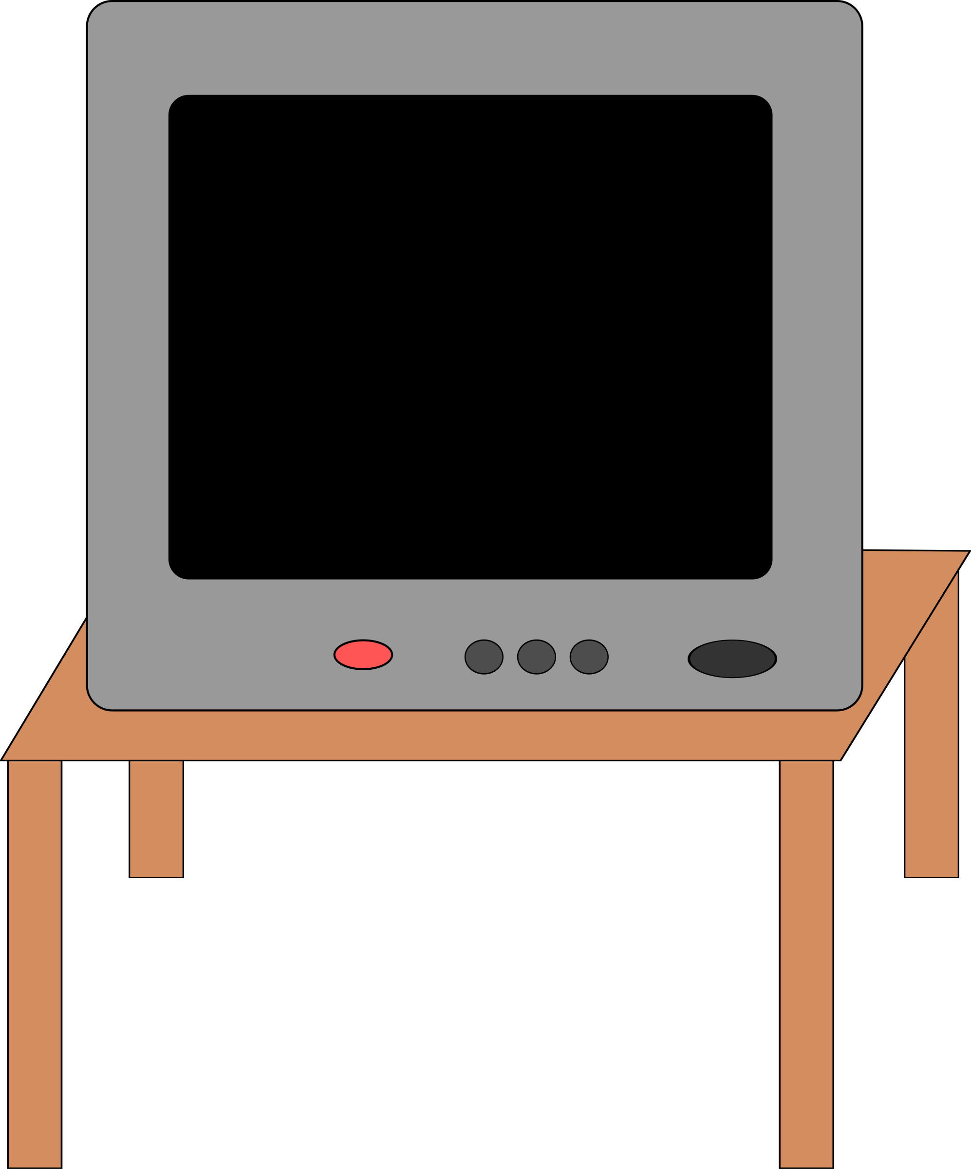 Set big image png. Clipart tv small tv