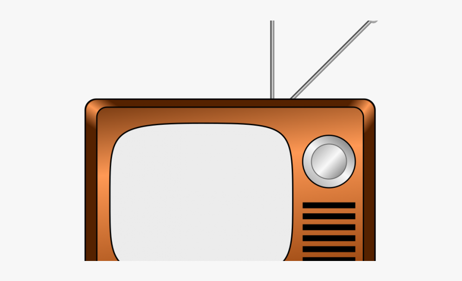 Clipart tv small tv. Old fashioned cartoon