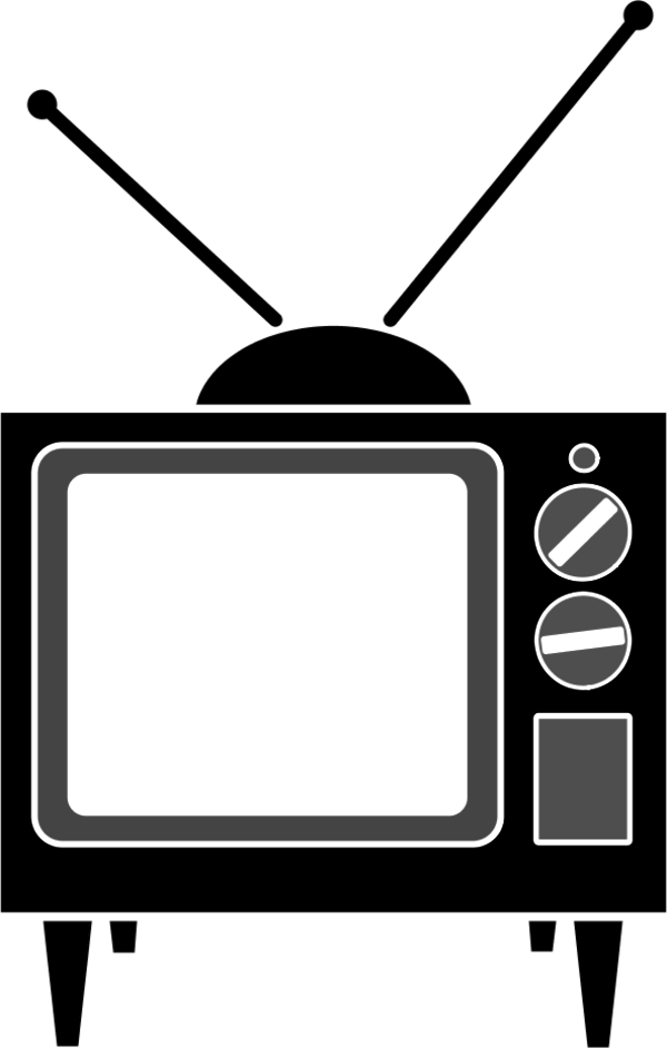 Television clipart small tv. Free pictures download clip