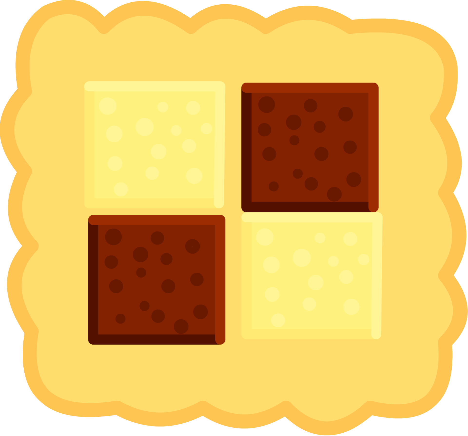 Square clipart square object. Image biscuit body om
