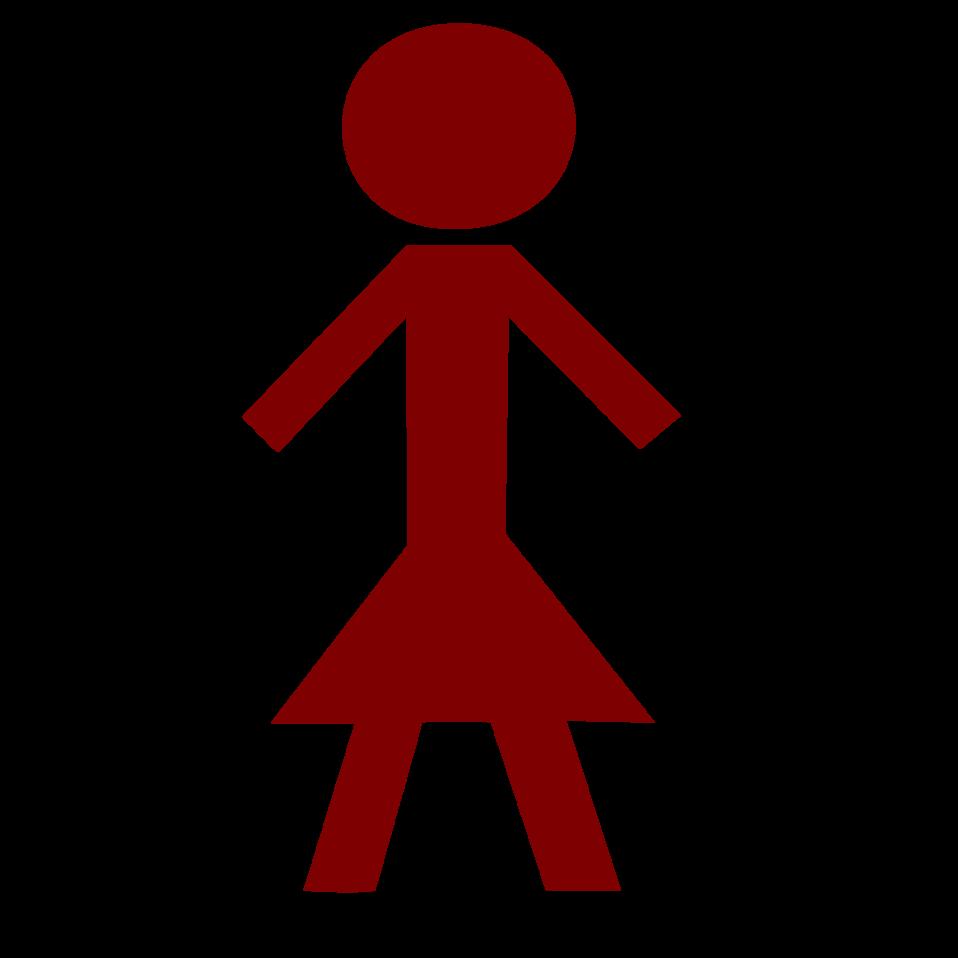 Public domain clip art. Clipart tv stick figure