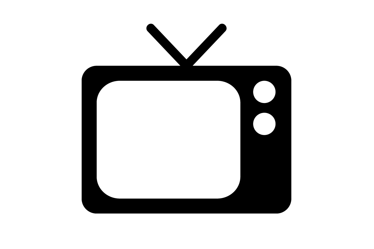 Test post from promos. Television clipart classic tv