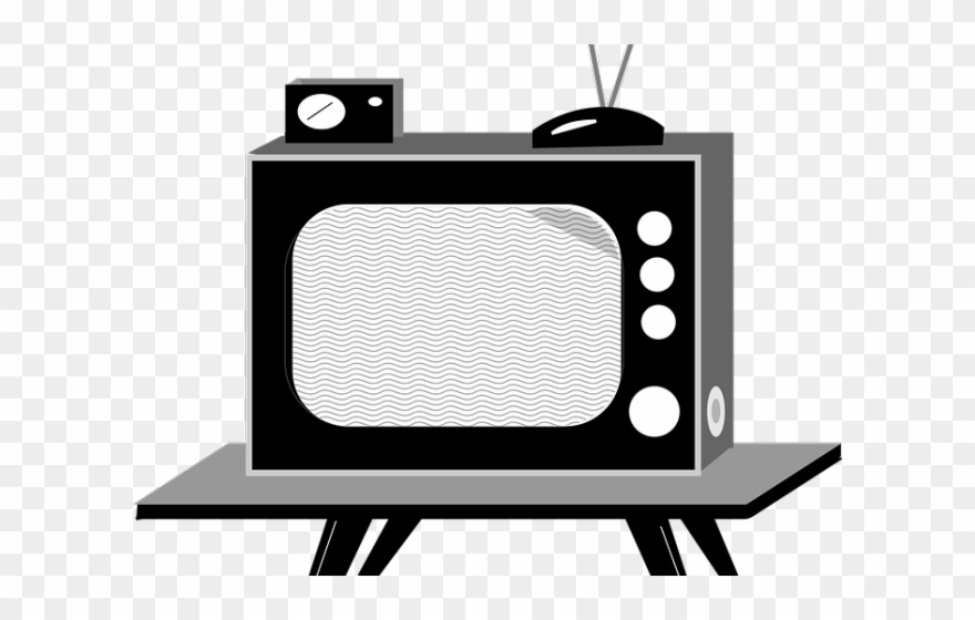Tube transparent . Clipart tv television