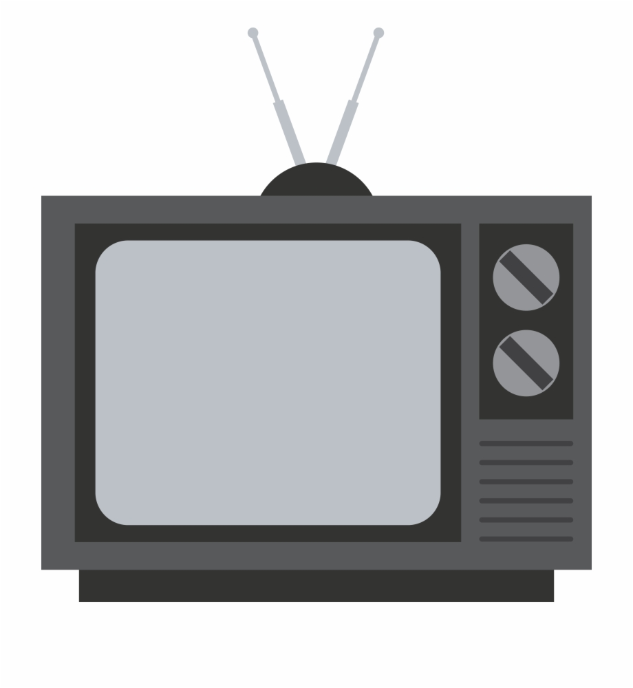 Old transparent background png. Clipart tv television