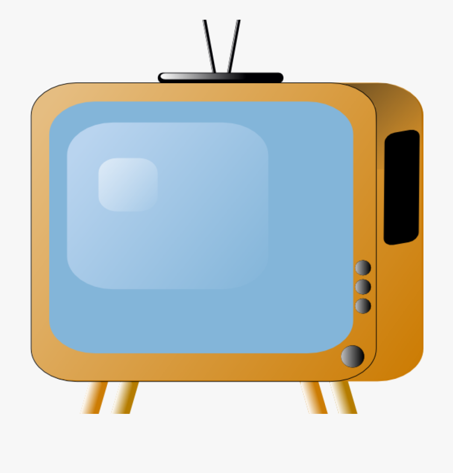 Clipart tv television. Awesome animated picture of