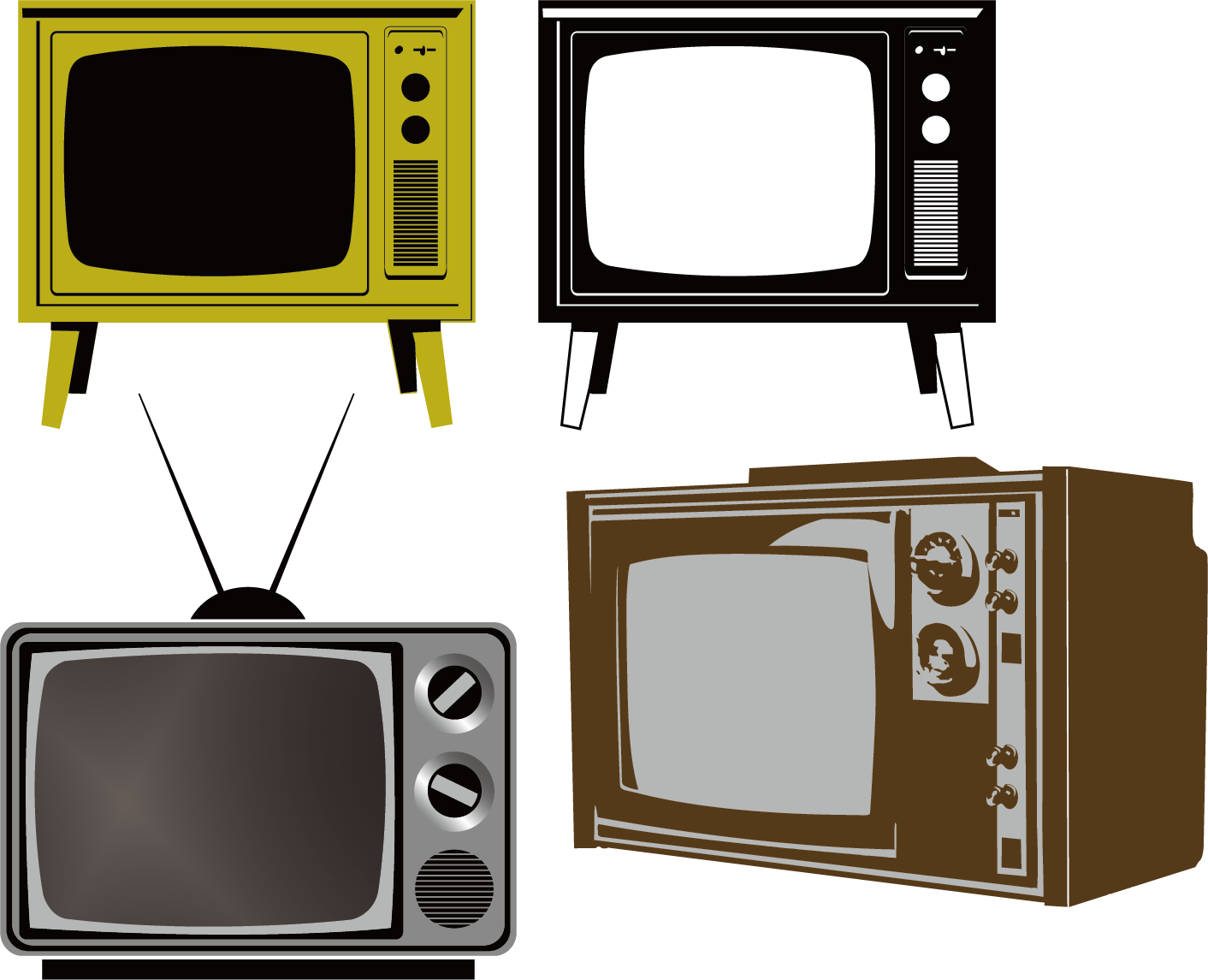 Electronics clipart electronic media. Digital television transition paper