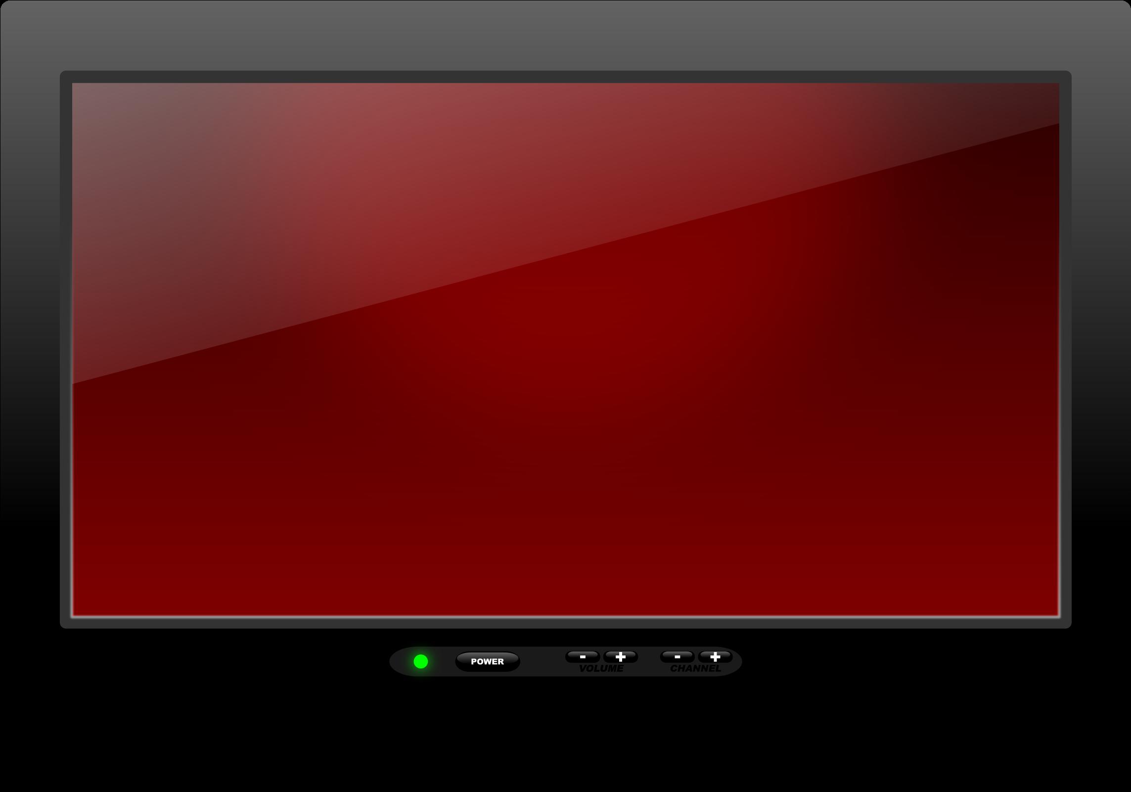Clipart tv telly. Hd screen plasma transparent