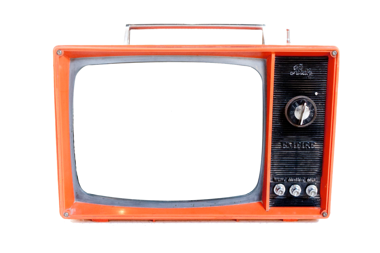 Tv vintage png pesquisa. Television clipart plastic object
