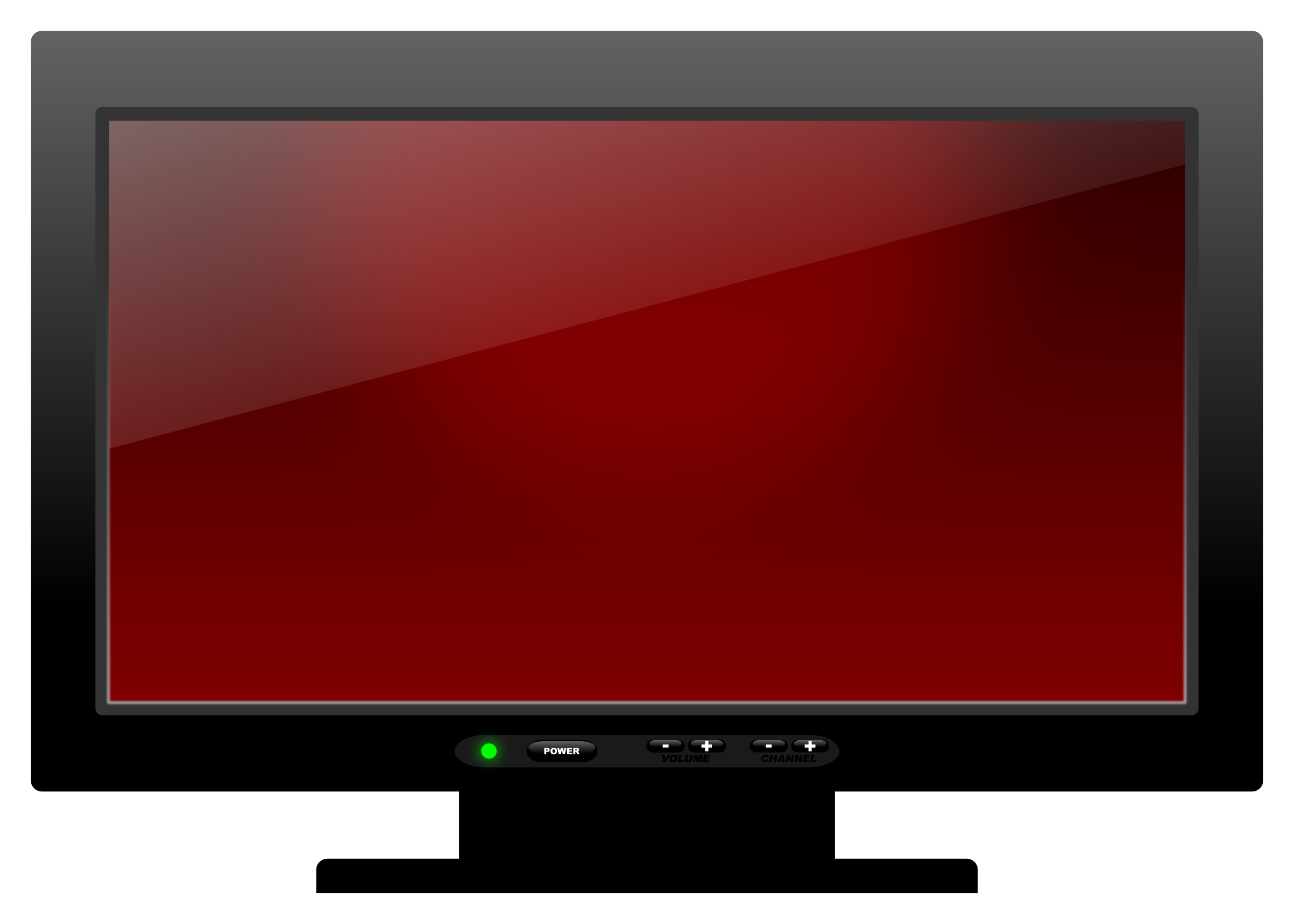 Plasma big image png. Clipart tv telly