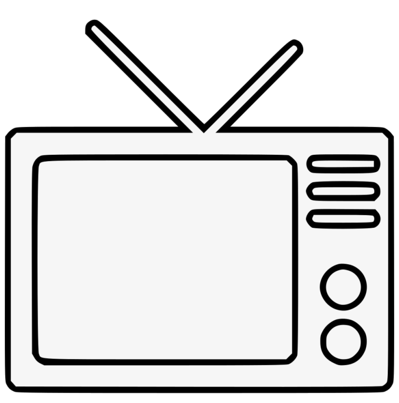 Clipart tv transparent background. Television png azpng