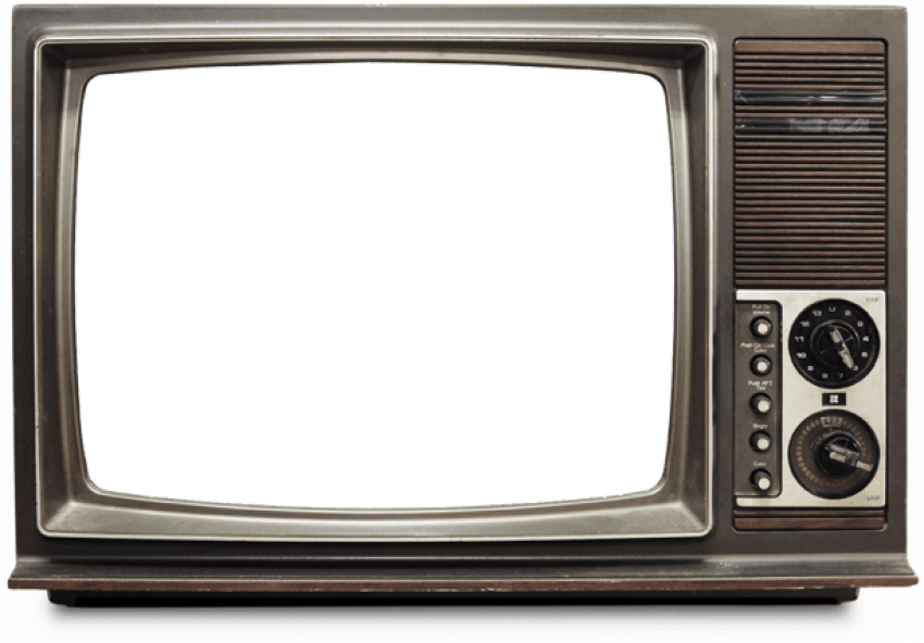 Old png free images. Clipart tv transparent background