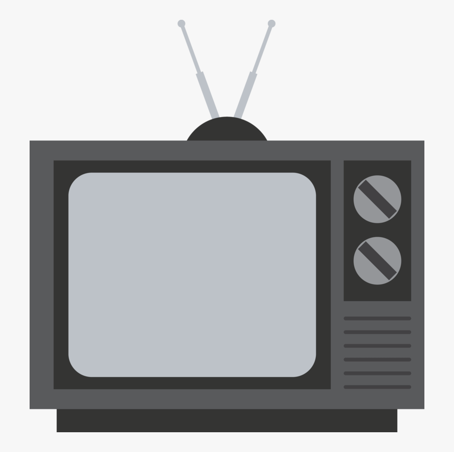 Transparent background clip art. Television clipart old fashioned