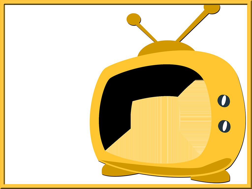 Clipart tv transparent background. Robot retro slide tim