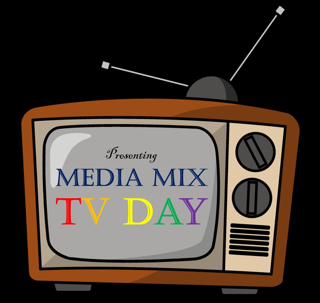 Day media mix. Television clipart box tv