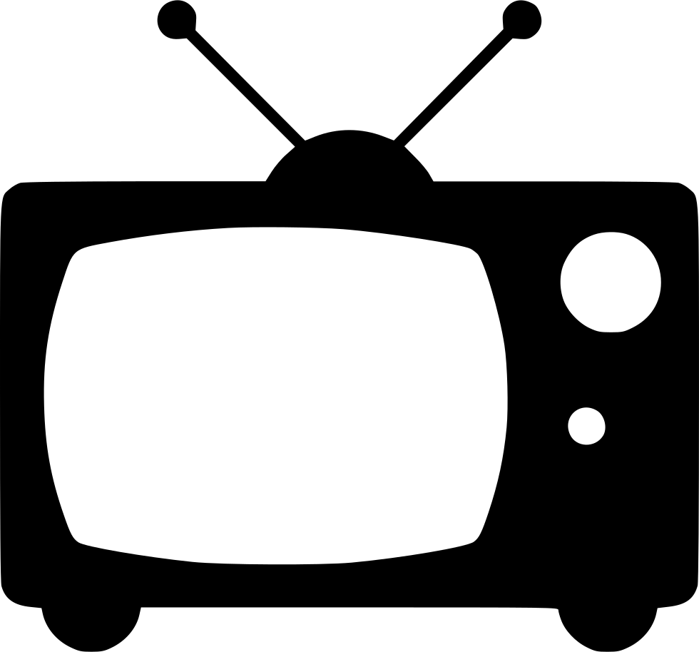 Old broadcast svg png. Television clipart tv broadcasting