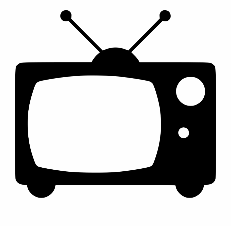 Old broadcast comments icon. Television clipart tv broadcasting