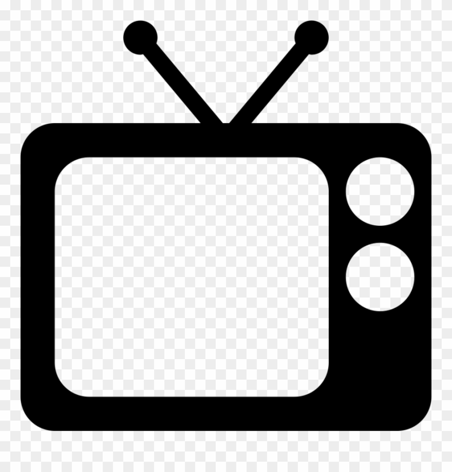 Crt television computer icons. Clipart tv tv icon