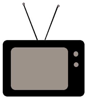 Clipart tv tv icon. Television clipartfest clipartix