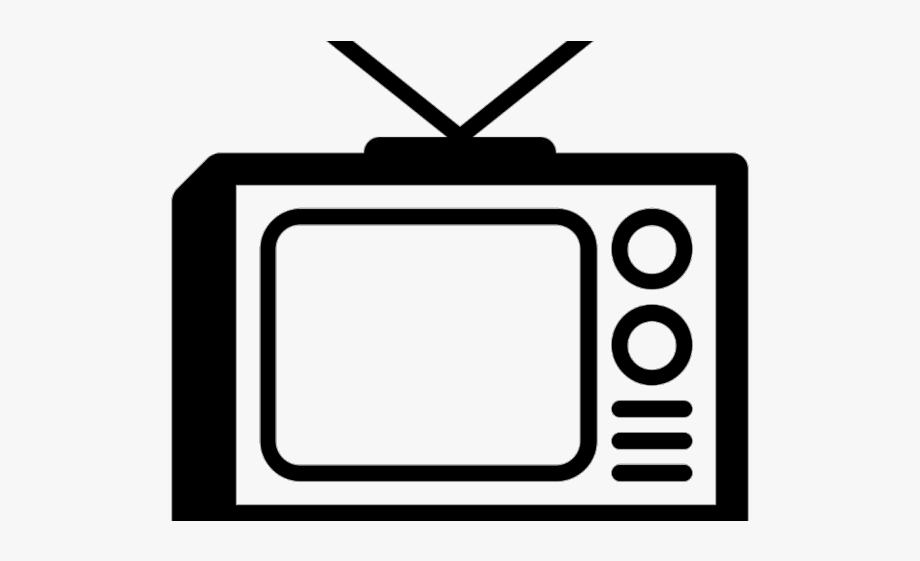 Television ad and radio. Clipart tv tv icon