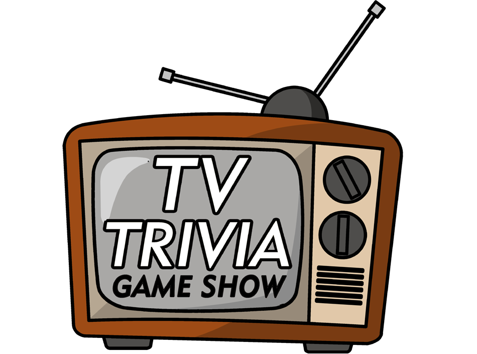 Game show trivia neon. Clipart tv tv program