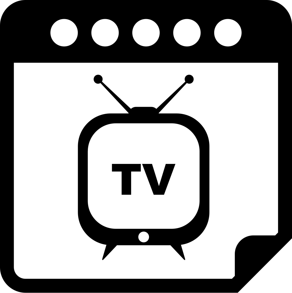 Clipart tv tv program. Special day reminder calendar