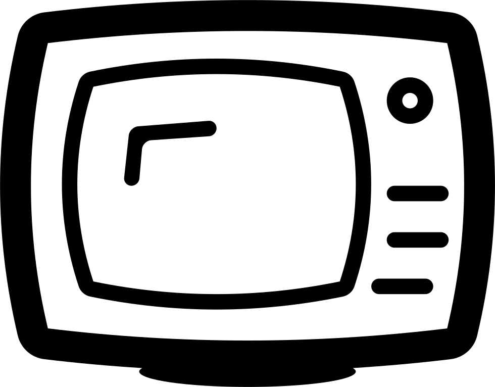 Clipart tv tv program. Show television svg png