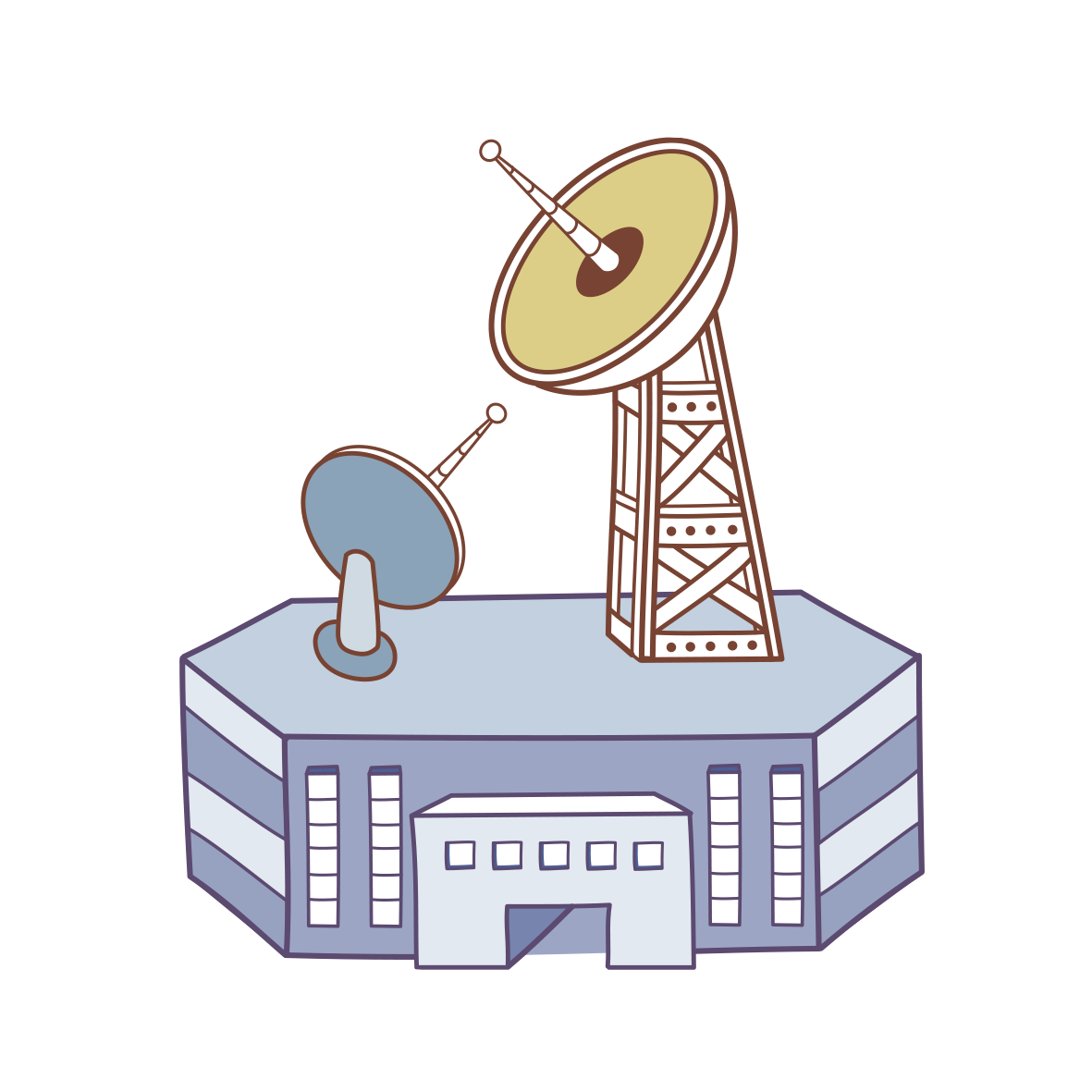 News clipart tv broadcasting. Television radio station clip